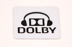 Dolby logo Royalty Free Stock Image
