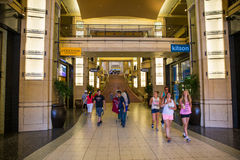 Dolby theater. Dolby Theatre entrance in Hollywood, California stock image
