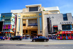 Dolby theater. Dolby Theatre entrance in Hollywood, California royalty free stock photography