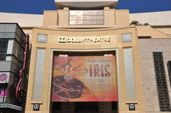 Dolby Theatre (Kodak Theatre) in California. HOLLYWOOD, CALIFORNIA - DECEMBER Dolby Theatre (Kodak Theatre) is home of Academy Awards (popularly known as the royalty free stock images