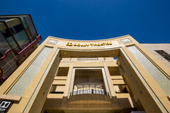 Dolby Theatre (Kodak Theatre). LOS ANGELES - OCTOBER 25: Dolby Theatre (Kodak Theatre) is home of Academy Awards (popularly known as the Oscars) as seen in Los stock photos