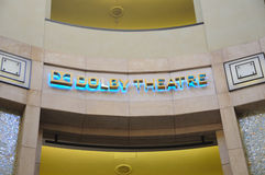 Dolby Theatre royalty free stock photos