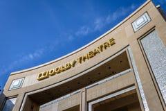 Dolbyteater på den Hollywood boulevarden - Los Angeles, Kalifornien, USA fotografering för bildbyråer