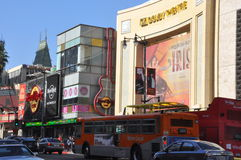 Dolbytheater (Kodak-Theater) in Kalifornien Lizenzfreie Stockfotografie