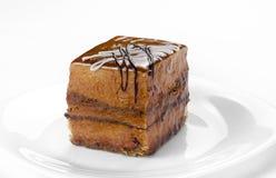 Dolce拿铁蛋糕 免版税库存照片