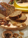 Dolce bananowy chleb Obrazy Royalty Free