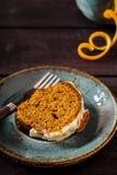 Dolce carota-arancio piccante Fotografia Stock Libera da Diritti