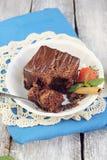 Dolce del ganache del cioccolato Fotografia Stock Libera da Diritti