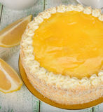 Dolce del limone Immagini Stock