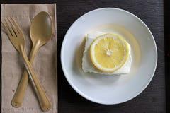 Dolce del limone Fotografia Stock Libera da Diritti