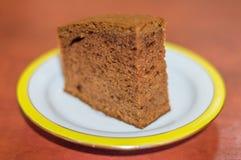 Dolce del pan di zenzero sul piatto Immagine Stock Libera da Diritti