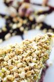 Dolce del pistacchio da sopra Fotografia Stock