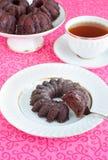 Dolce del vegano del cioccolato (verticale) Fotografia Stock