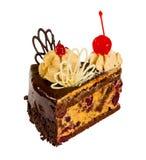Dolce delizioso del biscotto con cioccolato Immagini Stock Libere da Diritti