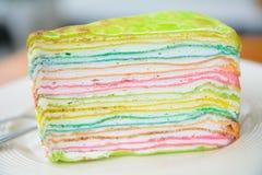 Dolce delizioso dell'arcobaleno Fotografia Stock Libera da Diritti