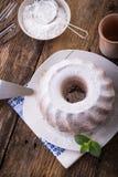 dolce dell'anello spruzzato con zucchero Immagine Stock Libera da Diritti