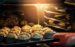 Dolce della banana della prima colazione di mattina in forno caldo che ha buon gusto a fotografia stock libera da diritti