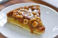 Dolce della mandorla e della noce di macadamia, pistacchio e torta della mandorla immagini stock libere da diritti