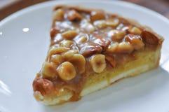 Dolce della mandorla e della noce di macadamia, pistacchio e torta della mandorla immagine stock libera da diritti