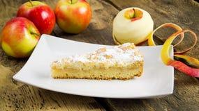 Dolce della torta di mele Immagini Stock Libere da Diritti