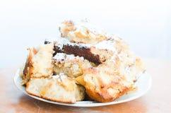Dolce della torta di mele Fotografia Stock