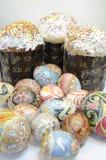 Dolce delle uova di Pasqua Immagini Stock Libere da Diritti