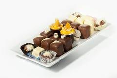 Dolce di cioccolato Fotografie Stock Libere da Diritti