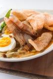 Dolce di riso del ketupat del lontong di cucina dell'Asia fotografie stock libere da diritti