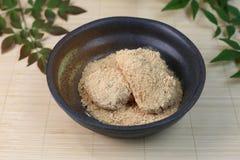 Dolce di riso in polvere con la farina di soia Fotografia Stock Libera da Diritti