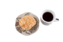 Dolce e caffè Fotografia Stock