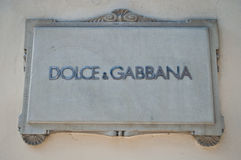Dolce et Gabbana Photos stock