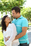 dolce felice di amore delle coppie Fotografia Stock Libera da Diritti