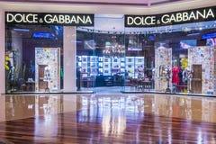 Dolce & Gabbana商店 库存图片