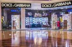 Dolce & Gabbana商店 免版税库存图片