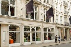 Dolce & Gabbana,新的政券街道,伦敦 免版税库存图片