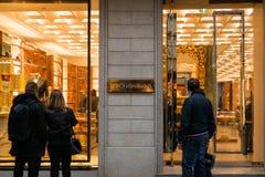 Dolce & Gabbana-boutique Stock Fotografie