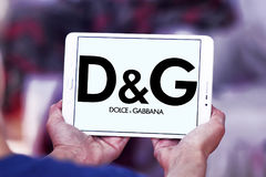 Dolce & Gabbana logo Arkivbilder