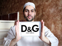 Dolce & Gabbana logo Fotografering för Bildbyråer