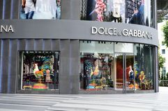 Dolce & Gabbana Stock Photography
