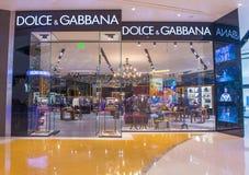 Dolce & Gabbana-Opslag Stock Foto
