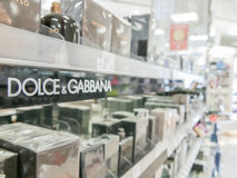 Dolce & Gabbana perfumes Stock Images