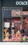 Dolce & Gabbana shoppar på Emquatier, Bangkok, Thailand, Januari 6, 201 Arkivbilder