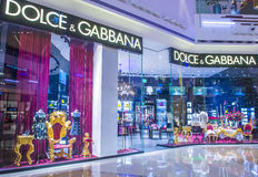 Dolce & Gabbana store Stock Images