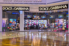 Dolce & Gabbana store Royalty Free Stock Photo