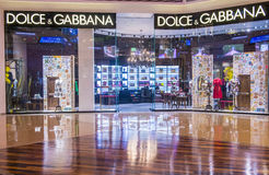 Dolce & Gabbana store Royalty Free Stock Images