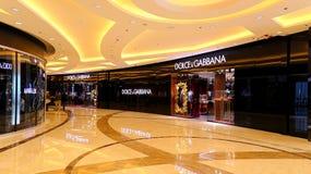 Dolce & gabbanaboutique, Hong Kong Royaltyfria Bilder
