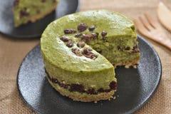 Dolce rosso di Bean Green Tea Cheese Fotografia Stock