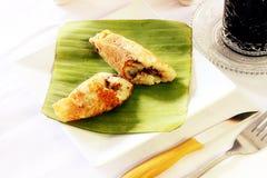 Dolce tradizionale - pancake del riso Fotografie Stock