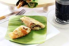 Dolce tradizionale - pancake del riso Immagini Stock