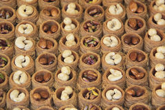 Dolce turco (Kadayif) Fotografia Stock